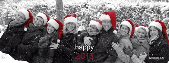 Team meetings.nl wenst jou fijne kerstdagen en een happy 2013